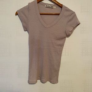 michael stars V neck tee shirt
